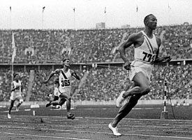GettyImages Jesse Owen's four gold medals were won while wearing shoes ...