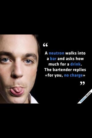 Sheldon quote