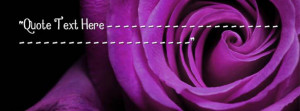 Purple Rose Facebook Name Cover Quotes Name Covers
