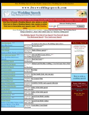 free wedding speech, best man, bestman, quotes, groom, bride, - PDF ...