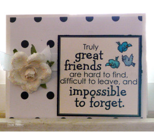 White on White, Card For Friends