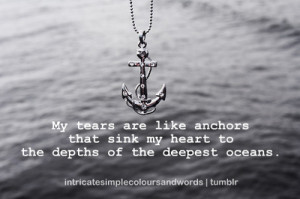 my heart to the depths of the deepest oceans deep ocean heart sadness ...