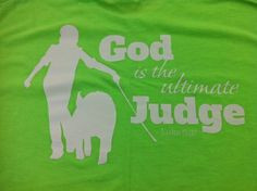 Show Pig: God is the Ultimate Judge Shirt $16.99 http://www ...