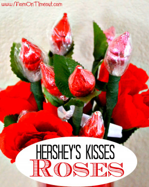 Hershey's Kisses Roses from MomOnTimeout.com | Perfect for weddings ...
