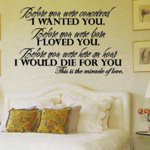 Before You...Wall Quotes Words Sayings Lettering