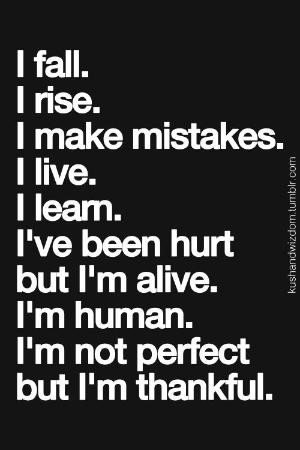 VenusV But Im Thankful life quotes hurt alive fall mistakes thankful ...