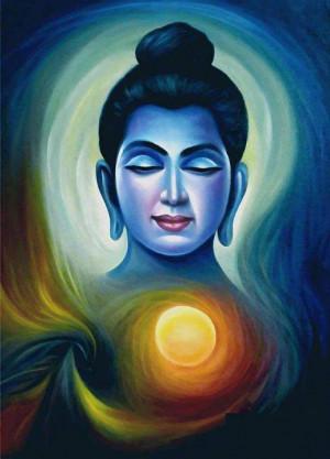 Lord Buddha Painting Image