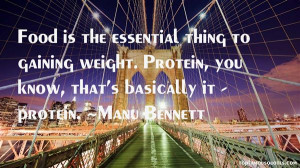 Gaining Weight Quotes