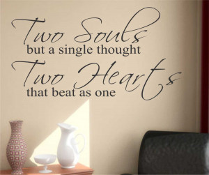 Romantic Marriage Quotes And Sayings Quote decals r Romantic