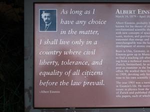 Albert Einstein Memorial Quotes