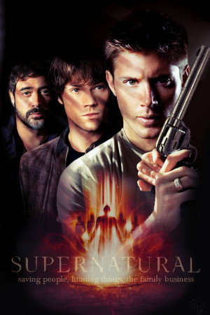 Supernatural Dean, Sam & John