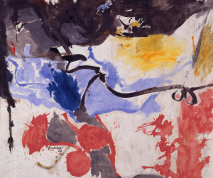 Helen Frankenthaler, Hotel Cro-Magnon, Courtesy Milwaukee Art Museum