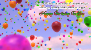 Birthday Wallpaper With Quotes For Sister Birthday quotes wallpapers
