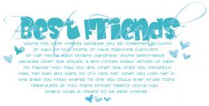 Best Friend Quotes, Best Friend Myspace Quotes
