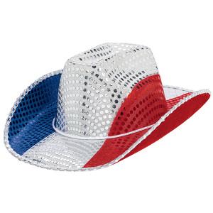 Patriotic Cowboy Hat 24in
