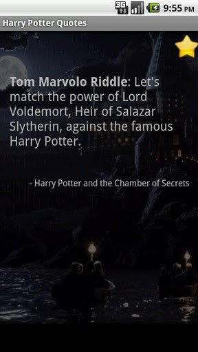 View bigger - Harry Potter Quotes for Android screenshot
