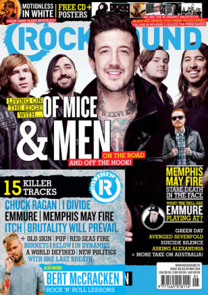 We're stoked to announce we're on the cover of the new rocksound ...