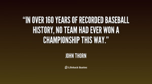 In over 160 years of recorded baseball history, no team had ever won a ...