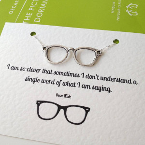 Girl with Glasses Quotes