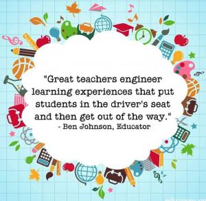 Kindergarten Teacher Quotes Great teachers quote via www.