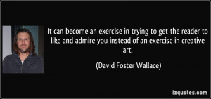 More David Foster Wallace Quotes