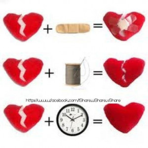Time heals everything..