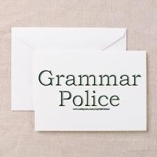 Grammar Police Greeting Cards (Pk of 10) for