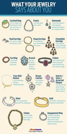 What does YOUR jewelry say about you? More