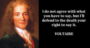 Famous Freedom Of Speech Quotes I have defended your right to