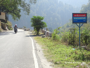 This photo was taken near Rudraprayag town in Uttarakhand.