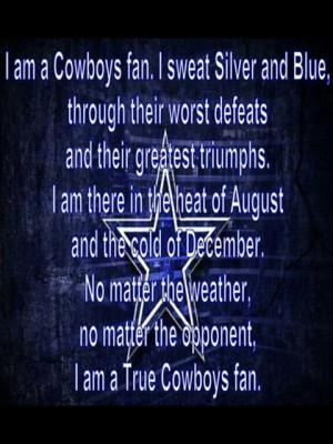 Dallas Cowboys Poems Quotes