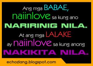 Quotes Tagalog Para Sa Mga Ex ~ Quotes About Love Tagalog Patama Sa Ex ...