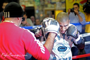 Miguel Cotto's NYC Media Day Workout Quotes, Photos & Video