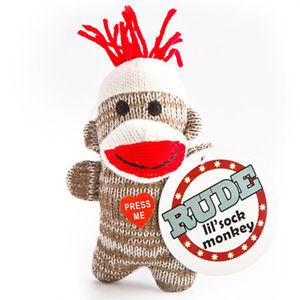 ... -Sock-Monkey-Plush-R-Rated-R-Talking-Key-Chain-Funny-Joke-11-Sayings