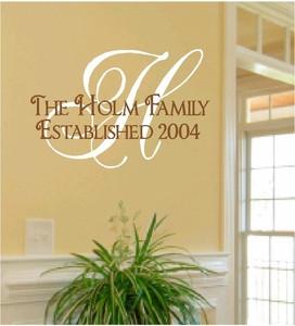 Family Established - Personalized