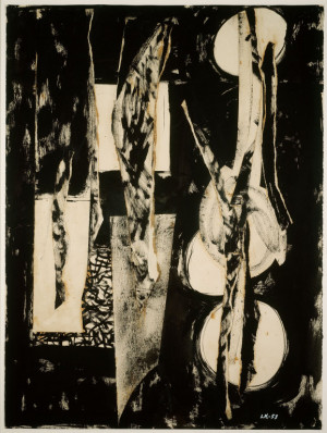 Lee Krasner Collage 2014 pollock-krasner