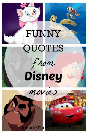 disney movie quotes funny