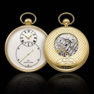 The Watch Quote: Photo - Jaquet Droz Pocket watch Ivory Enamel
