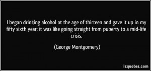 More George Montgomery Quotes