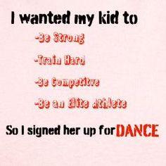 My dancer, Kyleigh Renee