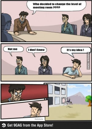 Meeting room funny meme
