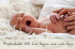 motherhood quote image