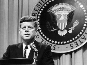 President John F. Kennedy addresses nation in his famous civil rights ...