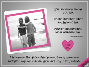 my husband my best friend quotes