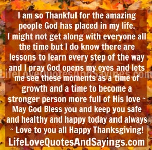 am so Thankful for the amazing people God has placed in my life. I ...