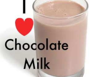 Chocolate Milk♥ good workout recovery drink