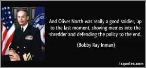 Oliver North Quotes