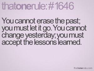 Mistakes And Lessons Learned Quotes