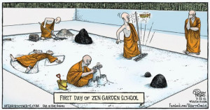 Cartoons of the Weird: Zen Tech