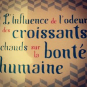 Ahhhh c'est énorme! #quotes #croissants #parisjetaime